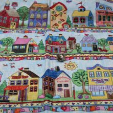 Sewing Street 100% Cotton Fabric Print